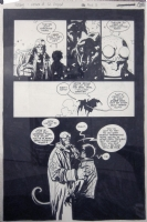 Hellboy: The Wolves of St. August. Issue 3, page 22. Comic Art