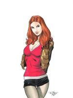Amy Pond Comic Art
