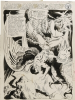 Joe Kubert Brave & Bold 44 Hawkman splash Comic Art