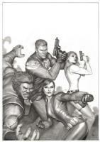 Secret Avengers #13 cover (2011) Comic Art