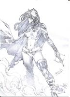 Huntress Comic Art