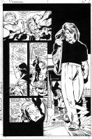 Scott McDaniel - Nightwing 1 page 6 Comic Art
