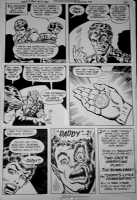 Bob Brown - Teen Titans 47 pg 29 Comic Art