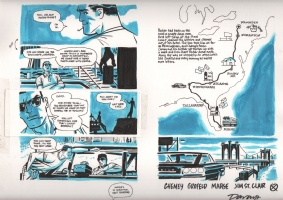 Richard Stark's Parker: The Outfit page 60-61 Comic Art