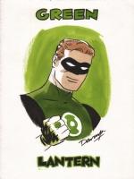 Green Lantern Comic Art