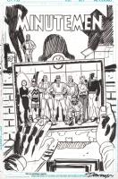Before Watchmen: Minutemen #1 page 5 Comic Art