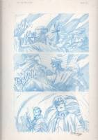 DC: The New Frontier #1 unpublished page 21 Comic Art