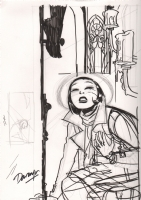 Before Watchmen: Minutemen #3 cover Comic Art