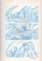 DC: The New Frontier unpublished page 21 Comic Art