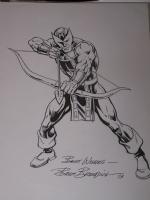 Hawkeye by Brett Breeding Comic Art