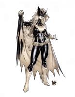 Batwoman copics commission sample - Paulo Siqueira Comic Art