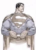 Superman commission - Paulo Siqueira Comic Art