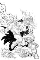 Detective Comics 50 variant cover Batman vs Superman Dawn of Justice - Rafael Gramp� Comic Art