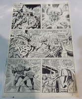 The Mighty Thor #147 pg 6 Comic Art