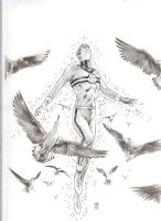 FS Miracleman 1 cover by Mark Buckingham Comic Art