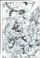 FS Green Lantern Corp 6 cover by Dave Gibbons Comic Art