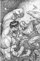 Dale Keown Hulk #624 Cover Comic Art