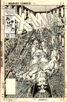 Barry Windsor-Smith Uncanny X-Men 205 cover Comic Art