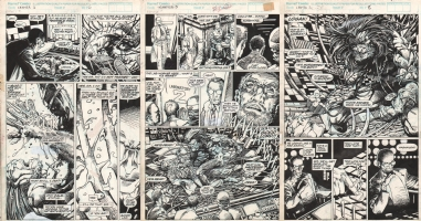 BWS Weapon X Chapter 3 pg. 6-8 Comic Art