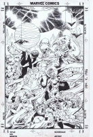 Alan Davis Excalibur Special Edition #1 Cover Comic Art