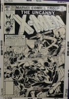 John Byrne Uncanny X-Men #133 Cover Comic Art
