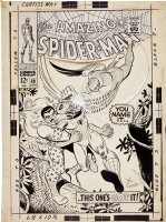John Romita Spider-Man #49 Cover Comic Art