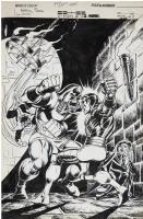 Dave Cockrum Uncanny X-Men 102 Cover Comic Art