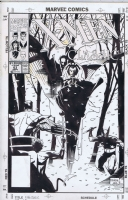 Mignola Classic X-Men #63 Cover Comic Art