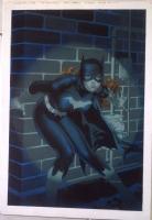 Kevin Nowlan Batgirl Painting Comic Art