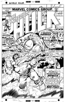 Incredible Hulk 165 Cover  Comic Art