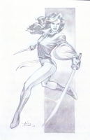 Shadowcat Sword Comic Art