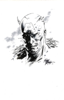 Steve Epting - Captain America (Battle Damaged) Comic Art