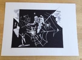 SPIDERMAN CHRIS CONIDIS  Comic Art