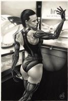 Anna Navarre- Deus Ex Comic Art