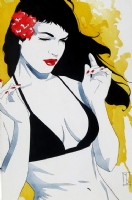 Bettie Page: Sunshine Comic Art