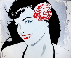 Bettie #2 Comic Art
