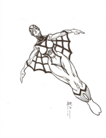 Spiderwoman by REB Comic Art