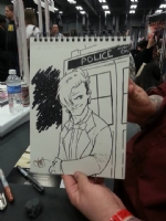 Dr. Who commission, Comic Art