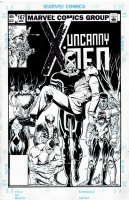 Uncanny X-Men #167 - Modernized: Chris Ivy after Paul Smith Comic Art