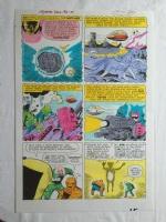 fantastic four # 13 / stat color Comic Art