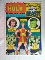 incredible hulk # 5 / STAT color  Comic Art