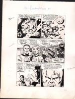 fantastic four # 48 / french version Comic Art