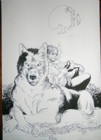 Bigby Wolf - Fables by Lan Medina Comic Art
