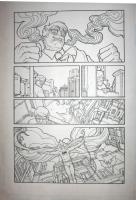 BATMAN LOTDK 192 pg16 Comic Art