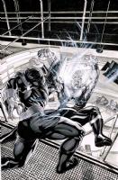Nova #11 Cover Recreation by Tony Parker Comic Art