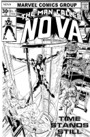 Nova #11.7 Fantasy Cover by Oscar Jimenez Comic Art