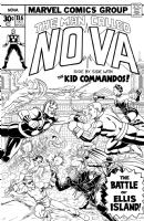 Nova #11.6 Fantasy Cover by Brendon and Brian Fraim Comic Art