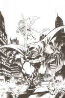DKR Batman and Robin by Nate Stockman Comic Art