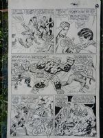 FANTASTIC FOUR #39 page 6 Comic Art