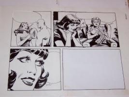 Phantom (L'Uomo Mascherato) - Romano Felmang - disegni preliminari Comic Art